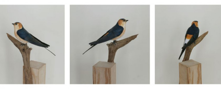 hirondelles | swallows | sculptures