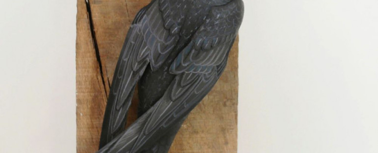 the common swift | le martinet noir, sculpture