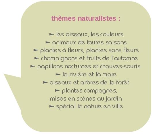 thème nature