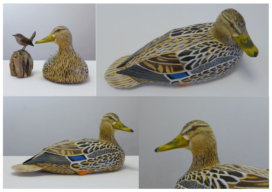 eric billion sculpture canne colvert mallard