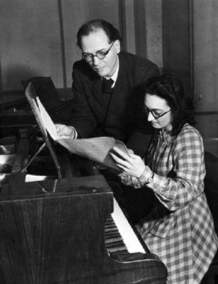 Yvonne Loriod et Olivier Messiaen