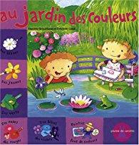 Danièle Schultess, au jardin des couleurs, éditions plumes de carotte