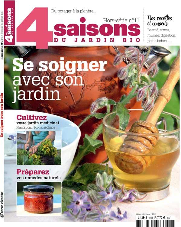 La boutique de Terre Vivante, le magazine, Les 4 Saisons du jardin bio