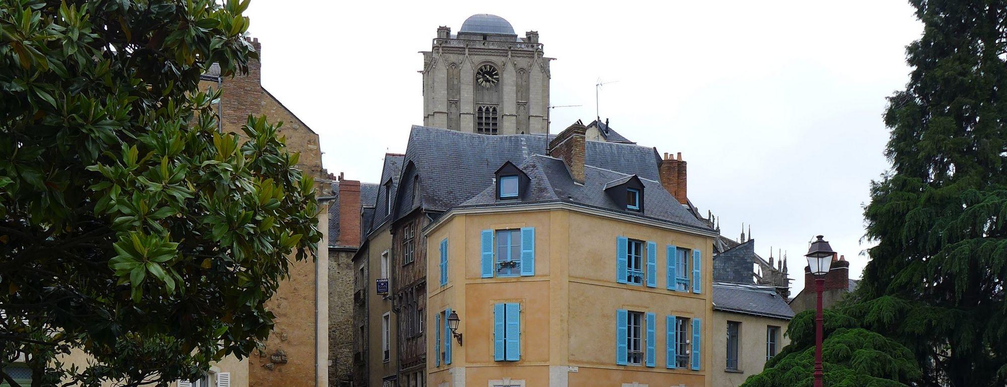 le vieux Mans, du square Dubois vers Saint-Julien