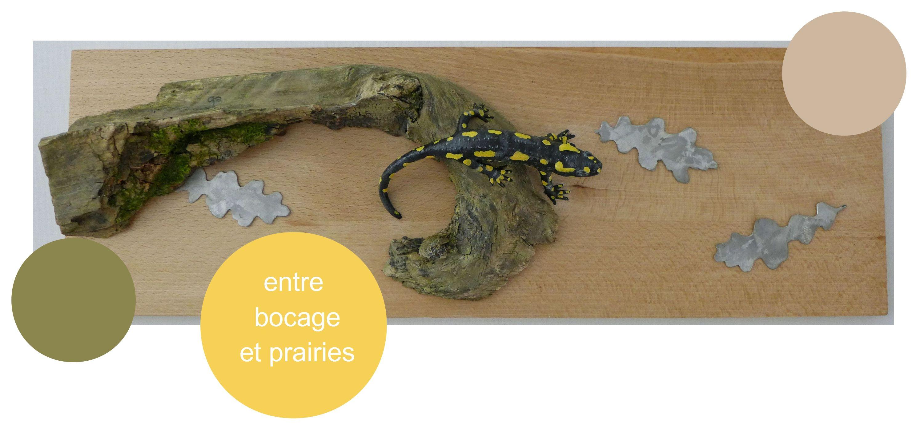 eric billion sculptures amphibiens amphibians