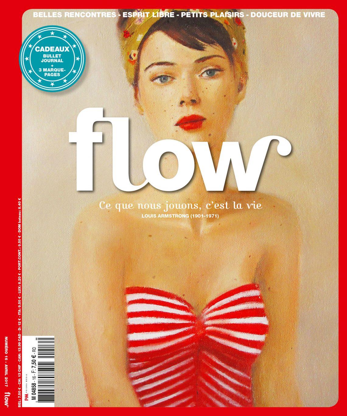 Flow magazine, 'L'avenir appartient à ceux qui croient à la beauté de leurs rêves'- Eleanor Roosevelt (1884-1962)
