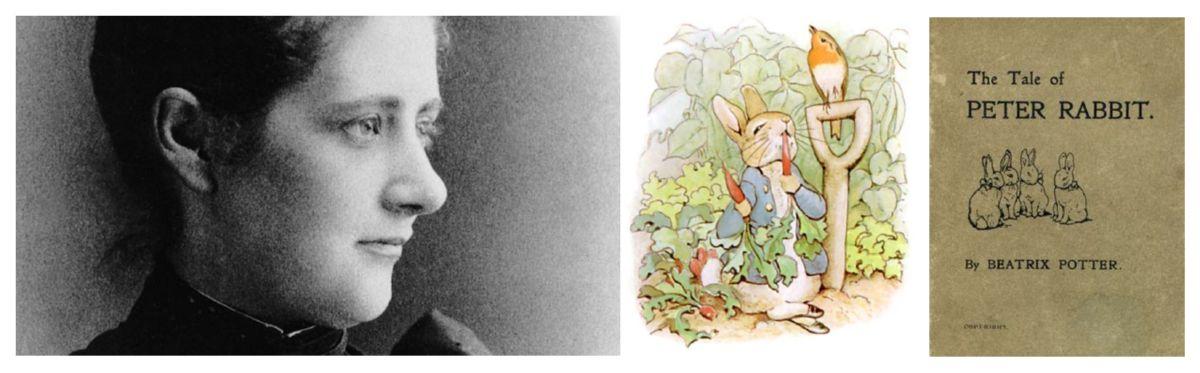 eric billion sculpteur histoire illustration botanique Beatrix Potter