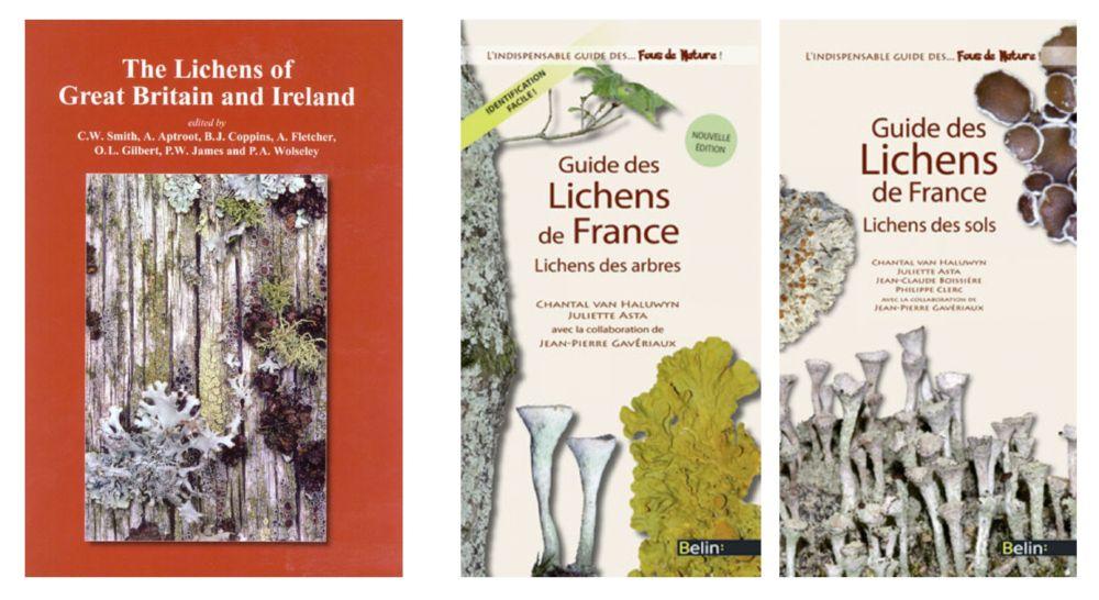The Lichen Flora of Great Britain and Ireland. Guide des lichens de France