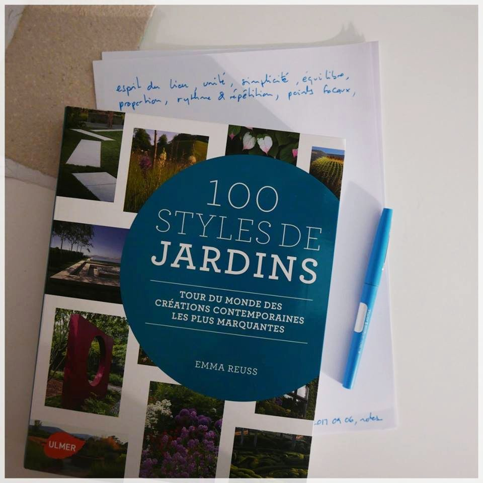 Emma Reuss. 100 styles de jardin. Éditions Ulmer. 2015. 432p.