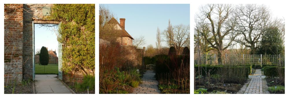 eric billion, surroundings, at sissinghurst garden