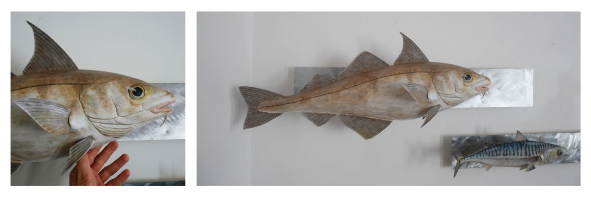 eglefin  haddock fish sculpture eric billion