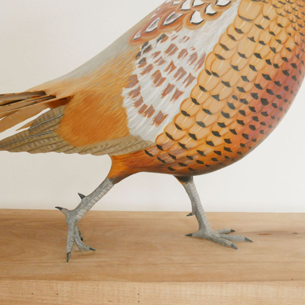 The common Pheasant | le Faisan de Colchide, sculpture