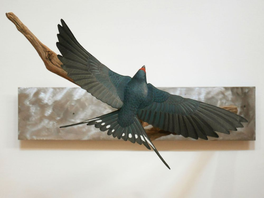The barn Swallow | l'Hirondelle rustique, sculpture