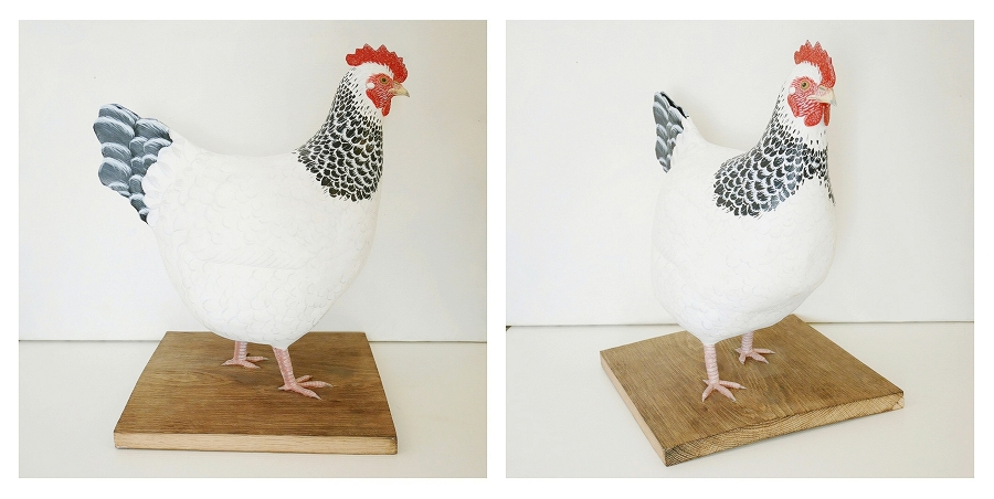 The Sussex Hen | la Poule du Sussex, 40 cm