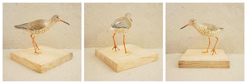 the common redshank | le chevalier gambette, 25 cm